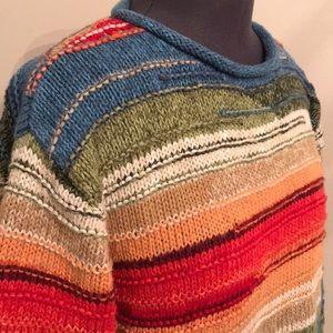 Cold water Creek Chunky Knit Warm Sweater Medium